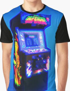 DEFENDER - 1981 ARCADE MACHINE Graphic T-Shirt