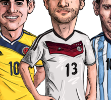 World Cup Stars Sticker