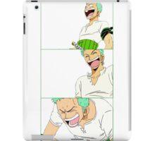 Laughing Zoro iPad Case/Skin