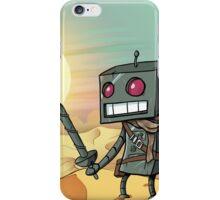 Desert Robot  iPhone Case/Skin