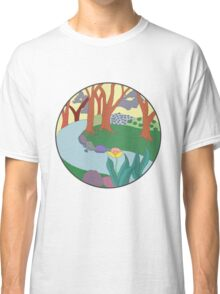 Forest Circle at Dusk Classic T-Shirt