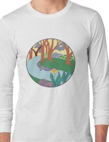 Forest Circle at Dusk Long Sleeve T-Shirt