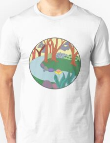 Forest Circle at Dusk Unisex T-Shirt