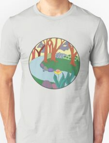 Forest Circle at Dusk T-Shirt