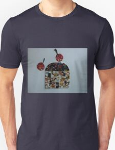 A honey and walnut house with some cherries Unisex T-Shirt
