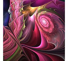 The Rising Spiral Photographic Print