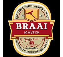 Braai Master - South African thing Photographic Print