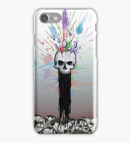 Exploding Skull iPhone Case/Skin