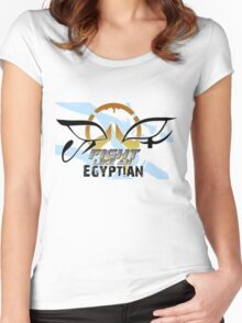 Fight like an Egyptian Women's Fitted Scoop T-Shirt