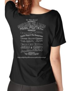 A Good Name For A Band Festival Shirt Women's Relaxed Fit T-Shirt