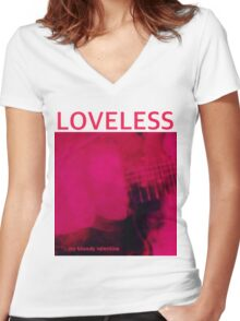 My Bloody Valentine Loveless Women's Fitted V-Neck T-Shirt
