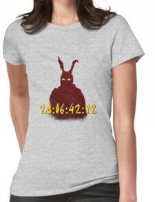 Donnie Darko Countdown Womens Fitted T-Shirt
