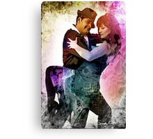 'Elation in the Dance' Canvas Print