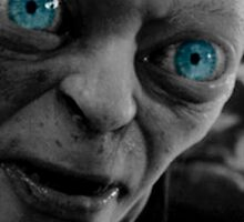 Gollum Black and White 2 by Themaninthefez