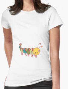 Friendly Caterpillar :) Womens Fitted T-Shirt