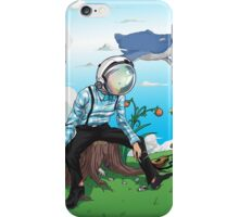 Space Man iPhone Case/Skin