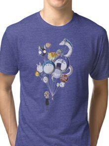 Miyazaki's Balloons Tri-blend T-Shirt