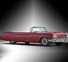 1960 Cadillac DeVille Convertible 'Studio' by DaveKoontz