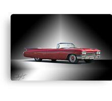 1960 Cadillac DeVille Convertible 'Studio' Canvas Print