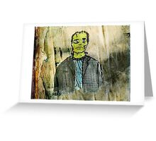 The Monster Greeting Card