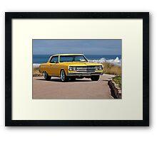 1965 Chevelle Malibu Framed Print