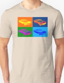 1956 Sedan Deville Cadillac Luxury Car Pop Art T-Shirt