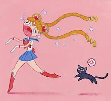 Sailor Moon by AppledornART