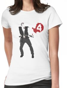 Left 4 Dead-Francis  Womens Fitted T-Shirt