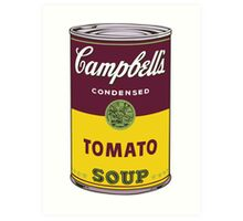 Campbell's Soup Can - Andy Warhol Print Art Print