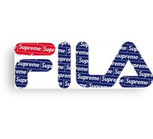 Fila x Supreme Canvas Print