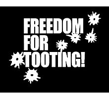 Freedom for Tooting! Photographic Print