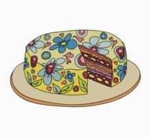 Sweet chocolate cake :)) by lisenok