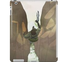 Naked Snake Falls iPad Case/Skin