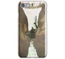 Naked Snake Falls iPhone Case/Skin