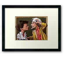 It's your kids Marty Framed Print