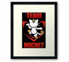 Pokemon Go - Team Rocket! Framed Print
