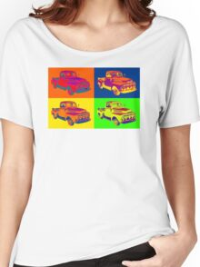 1951 ford F-1 Pickup Truck Pop Art Women's Relaxed Fit T-Shirt