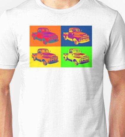 1951 ford F-1 Pickup Truck Pop Art Unisex T-Shirt