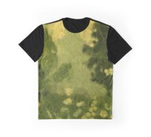 """Summer lawn"", wool painting, landscape in green shades Graphic T-Shirt"