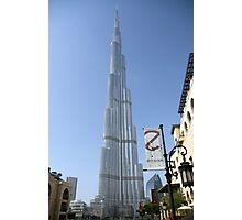khalifa tower Photographic Print