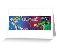 Mardi Gras Celebration Greeting Card