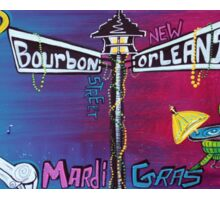 Mardi Gras Celebration Sticker