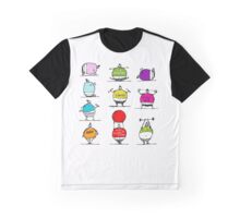 Fat people doing sports, sketch Graphic T-Shirt