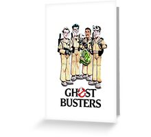 Ghostbuster new Greeting Card