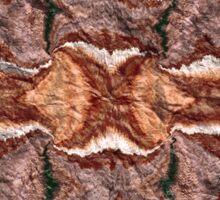 """Cayonland Digital Parchment"" © 2008 Brad Michael Moore Sticker"