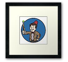 Vault Doctor Framed Print