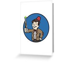 Vault Doctor Greeting Card