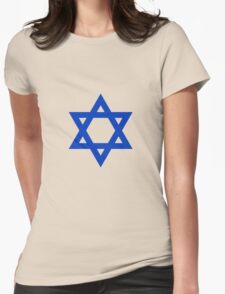 STAR OF DAVID Womens Fitted T-Shirt