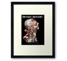 Antique Anatomy Logo Framed Print
