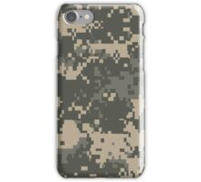Army Pixel Camo Pattern iPhone Case/Skin